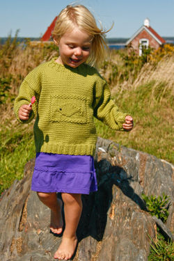 Ship Shape Kid's Crew -  Seguin Collection - Botanica or Casco Bay Worsted