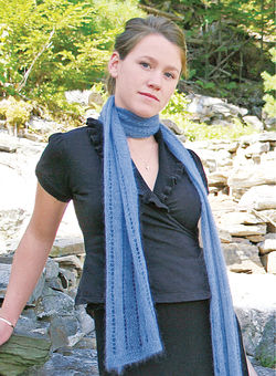 Knitting pattern for a mohair scarf | iVillage UK