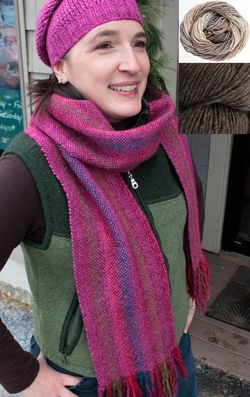 Chill Chaser Woven Scarf Kit - Granite Cliff