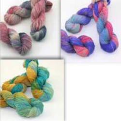 Halcyon Signature Hand-Dyed Silk Noil Yarn