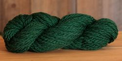 Final Sale! Dk Green, 65 yds - Super Bulky Heavy Wool