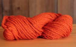 Final Sale! Orange, 65 yds - Super Bulky Heavy Wool