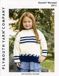 Encore Kid's Nautical Pullover