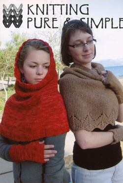 Scarf/Hood and Wrist Warmers by Knitting Pure and Simple