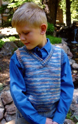 Basic Vest for Children by Knitting Pure and Simple
