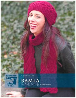 Ramla Hat and Scarf