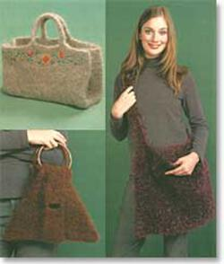 Felted Bags.