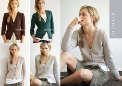 Jo Sharp Fitted Cotton Cardigan Pattern