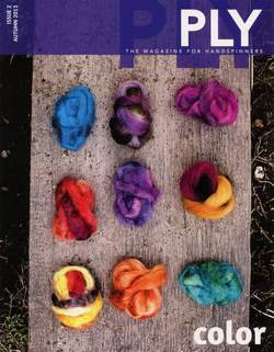 Ply - The Magazine for Handspinners -Color - Autumn - Issue 2
