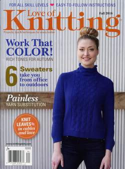 Love of Knitting Fall 2016