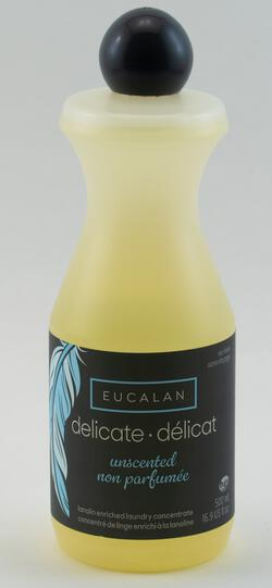 Natural, Unscented Eucalan Wool Wash 16.9 oz bottle