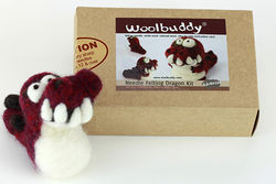 Dragon Needle Felting Kit - Woolbuddy