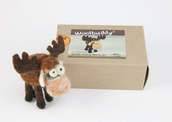 Moose Needle Felting Kit - Woolbuddy