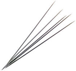 Inox 8&quot; Steel Lace  Knitting Needles 0/2.00mm