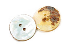 Mother of Pearl Button, small -.44