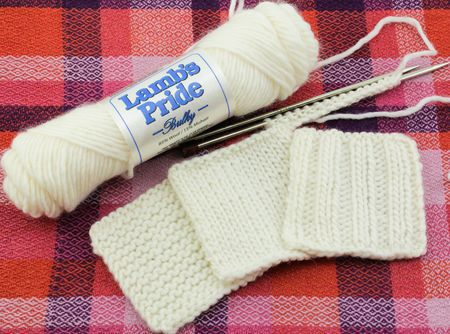 Beginner--Knitting