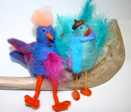 Funky--Felted--Feathered--Friends