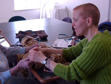 Knitting--911