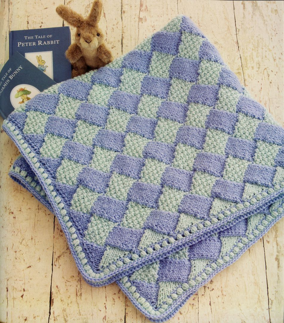 Knit Baby Blanket Pattern Quick : 60 Quick Baby Blankets, Knitting Book - Halcyon Yarn