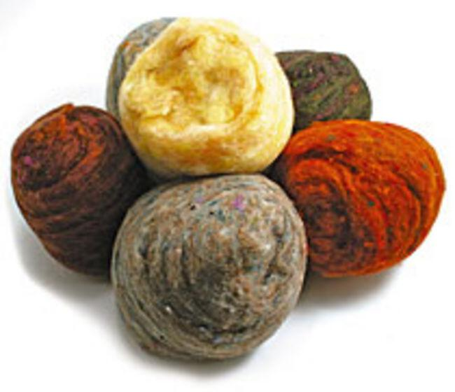Peace Fleece Batting Bundles - Warm Colors