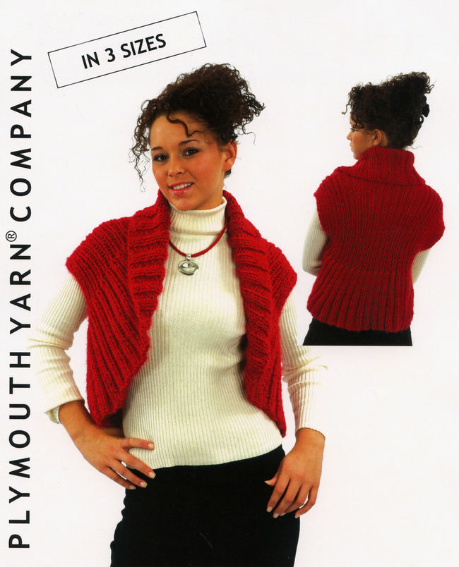 Alpaca Shrug or Vest