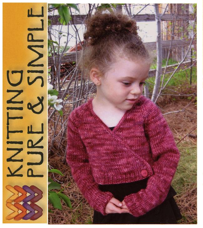 Childs ballet cardigan knitting pattern