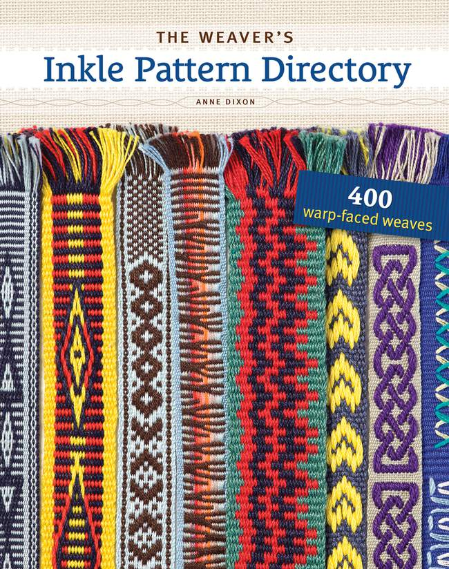 Amazon.com: The Weaver's Inkle Pattern Directory: 400 Warp-Faced