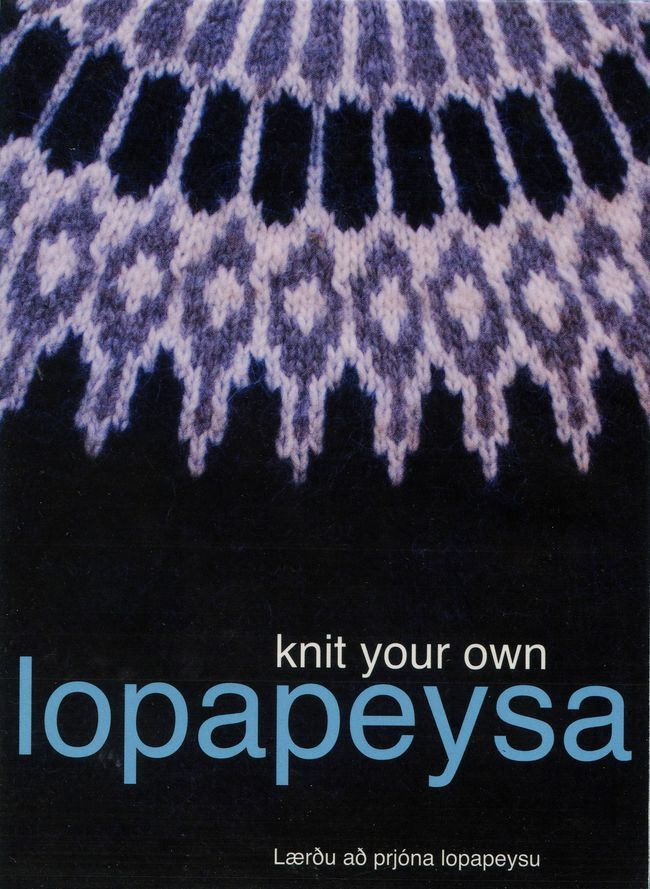 DVD Knit Your Own Lopapeysa (Yoke Sweater)