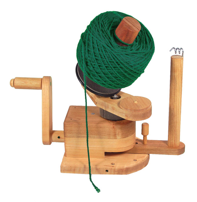 Heavy Duty Wooden Ball Winder