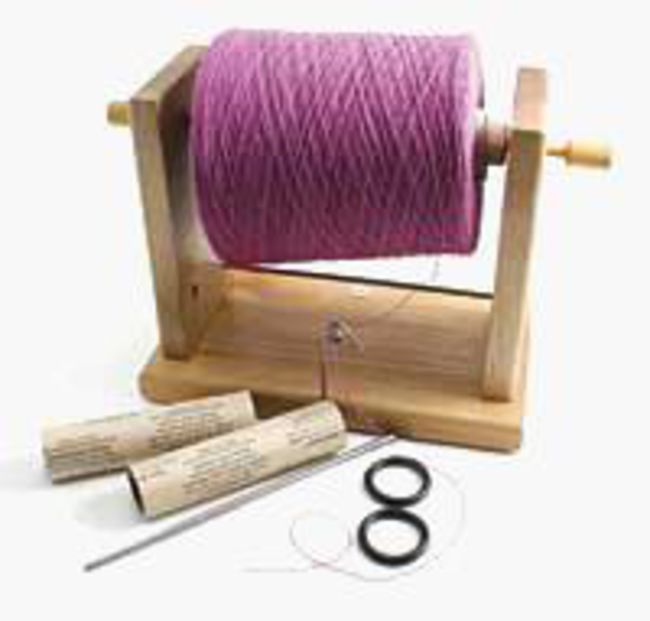 Yarn Bobbin and Cone Holder