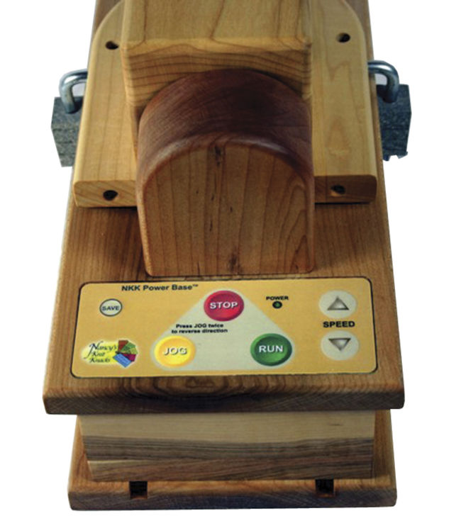 Wooden Ball Winder Power Base