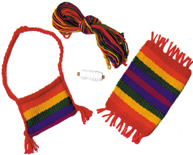 Harrisville Pegloom Refill-Rainbow Rug/Purse