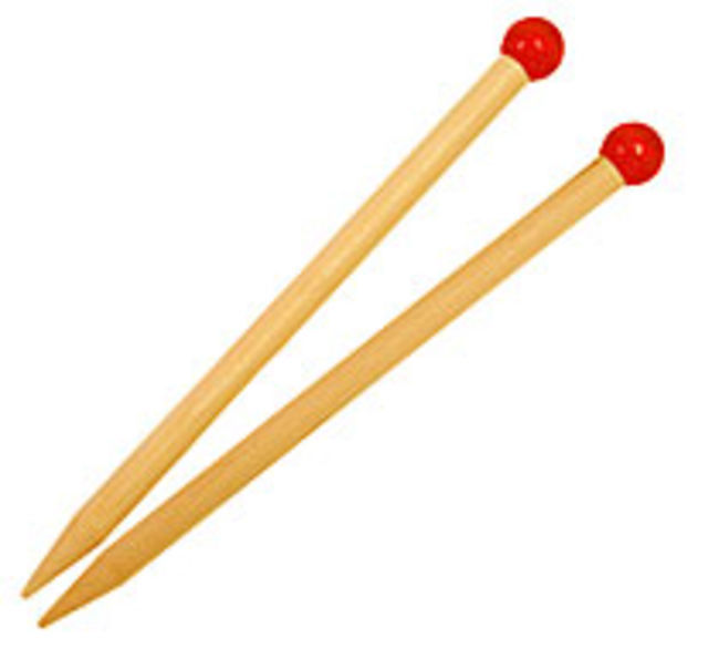 Kid&apos;s Wooden Knitting Needles-13