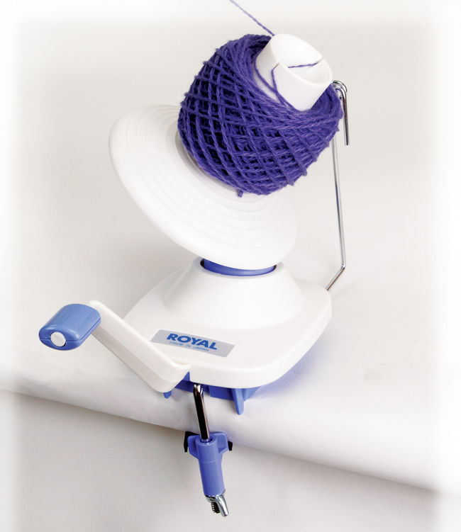 Plastic and Metal Ball Winder