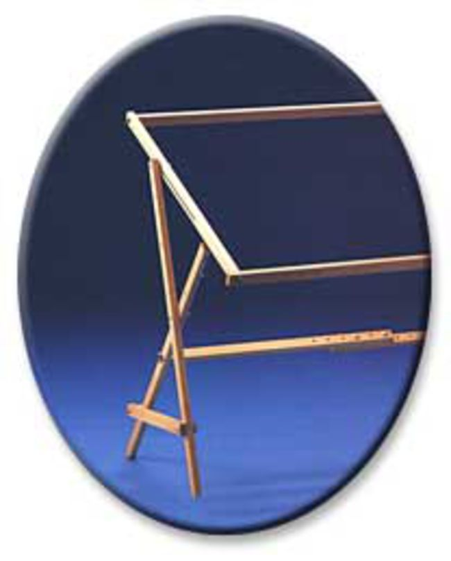 Adjustable Rug Frame with Floor Stand