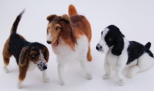 Perfect Pets (Dogs) Needle Felting Kit - Black Sheep Designs