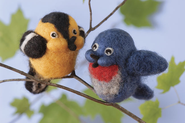 Songbird Needle Felting Kit