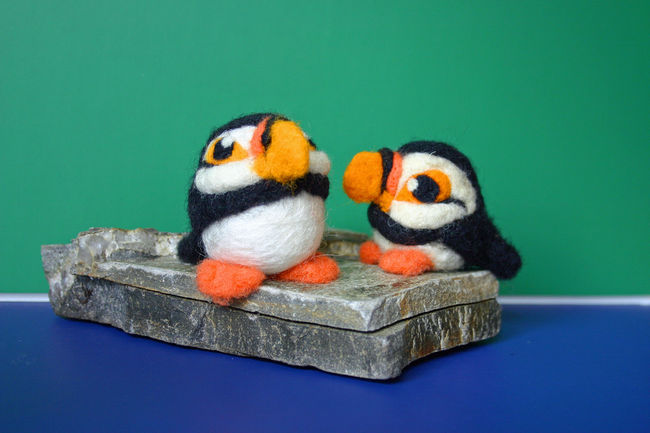 Puffin Needle Felting Kit