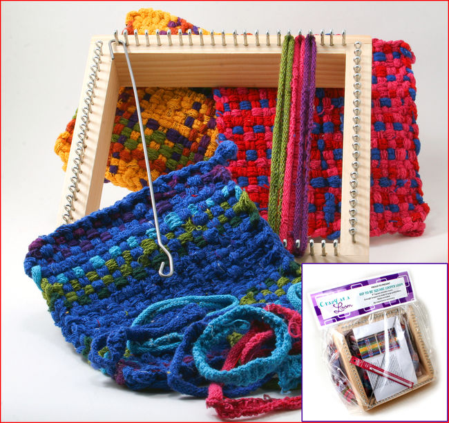 Crazy as a Loom Potholder Loom