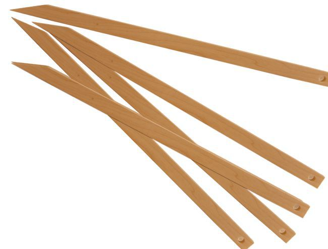 "Beka 12"" Wood Weaving Needle or Pick-Up Stick"