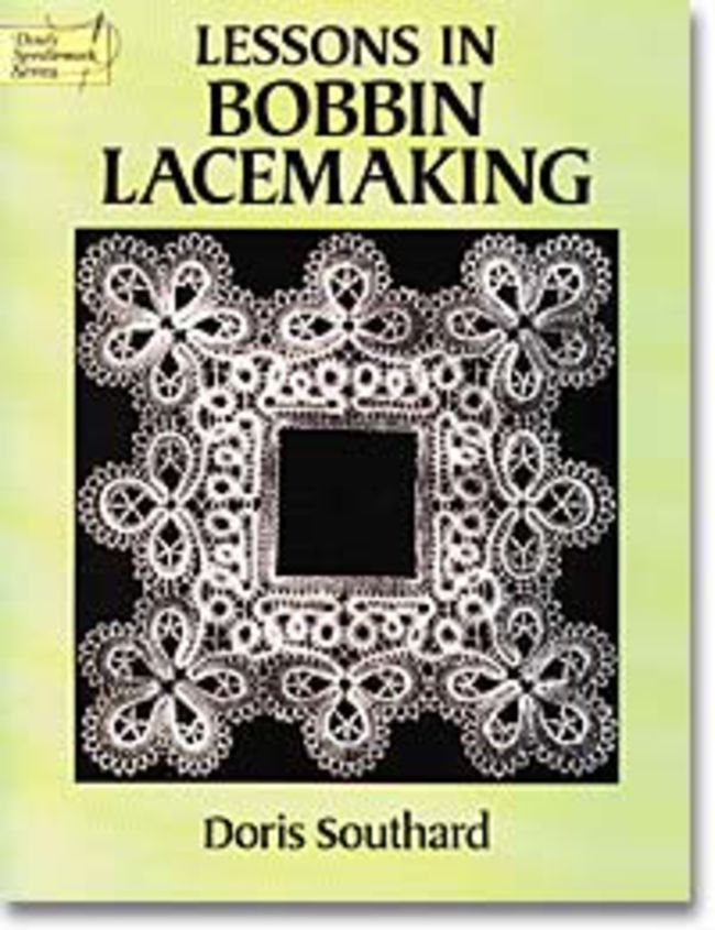 The author outlines the history of bobbin lace and provides detailed ...