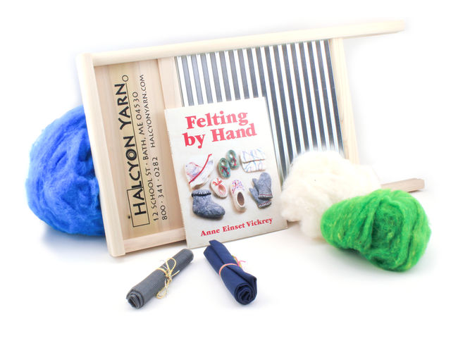 Halcyon's Felting Kit