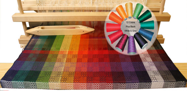 Color Gamp 2 - A Study in Color and Weave Kit