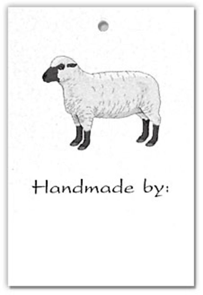 Hangtags-Sheep Design