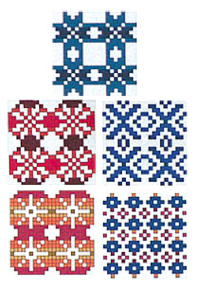Gift Cards-Fair Isle  Set (5 Designs)