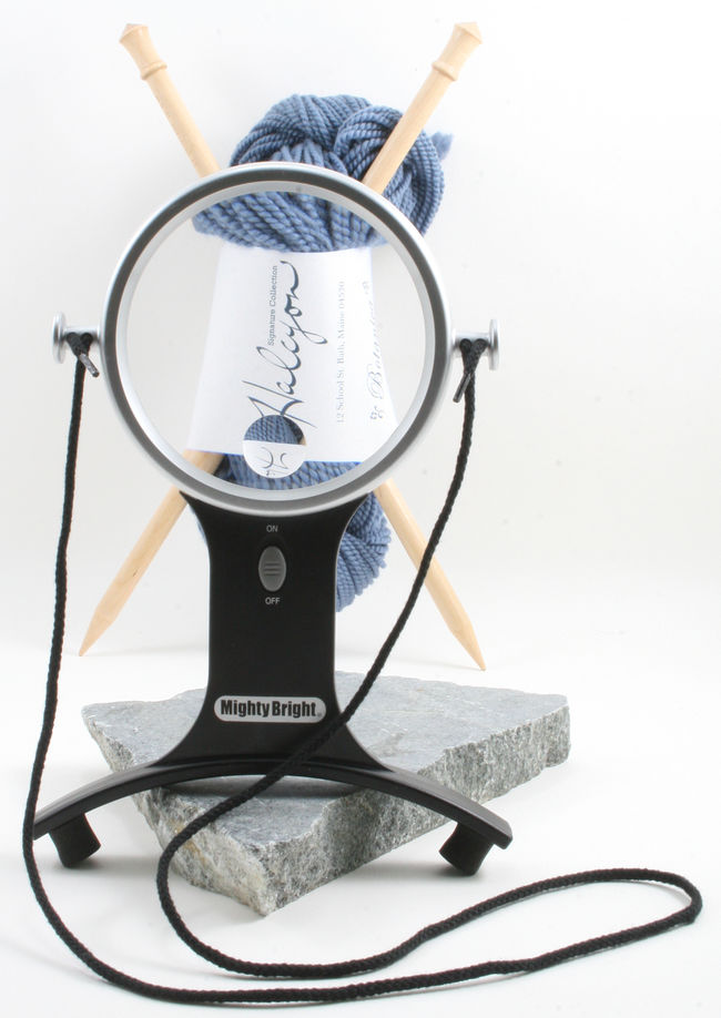 "Mighty Bright 4"" Hands Free Lighted Magnifier"