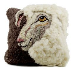 Sheep Portrait of Jack  Hooking Pattern