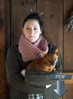 Popham Cowl  Pattern Download