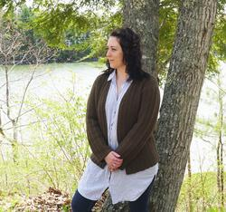 new book or magazine: Rangeley Cardigan
