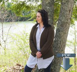 Rangeley Cardigan  Pattern Download